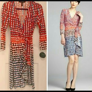 BCBG MaxAzria XS wrap dress. NWOT.